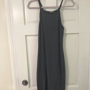 UO form fitting maxi dress